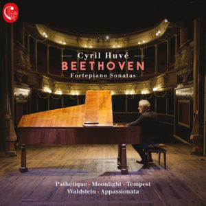 Beethoven - fortepiano sonatas - Cyril Huvé